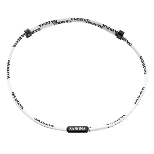 Sports Athletic Necklace - White