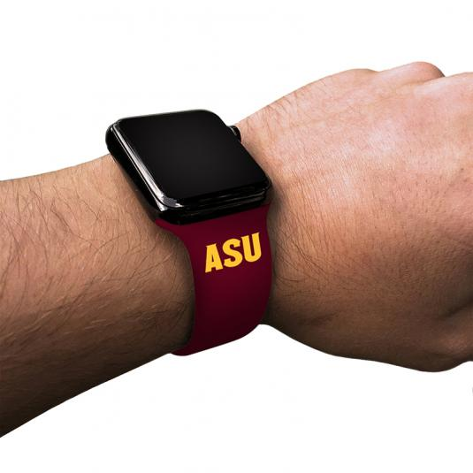 Arizona State University Sun Devils Silicone Sport Band for Apple Watch®