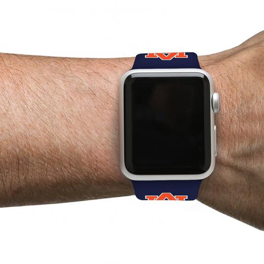 Auburn University Tigers Silicone Sport Band for Apple Watch®