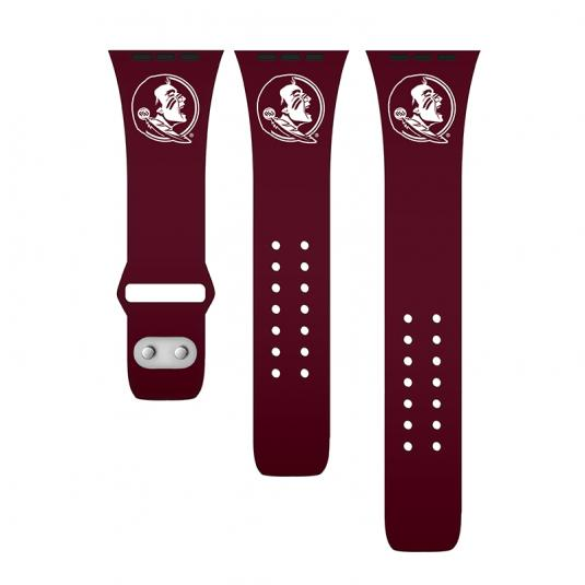 Florida State University Seminoles Silicone Sport Band for Apple Watch®