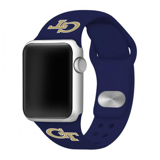 Georgia Tech Yellow Jackets Silicone Sport Band for Apple Watch®