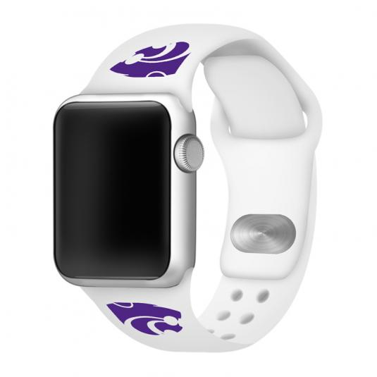 Kansas State University Wildcats Silicone Sport Band for Apple Watch®