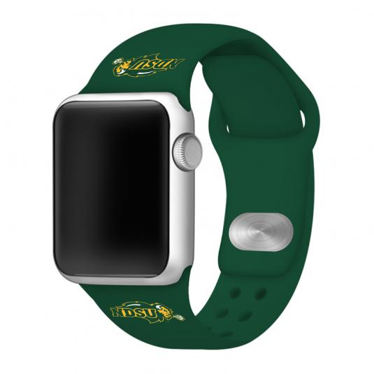 North Dakota State University Bisons Silicone Sport Band for Apple Watch®
