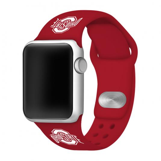 Ohio State University Buckeyes Silicone Sport Band for Apple Watch®