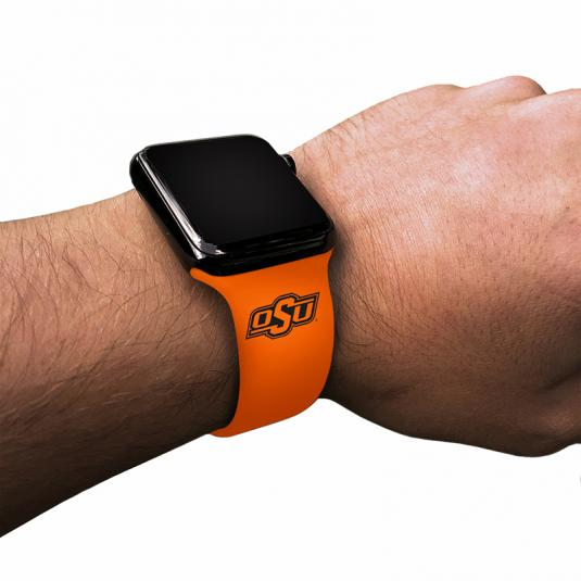 Oklahoma State University Cowboys Silicone Sport Band for Apple Watch®