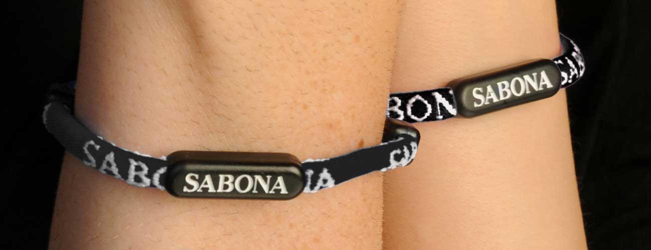 Sabona Athletic Bracelet - Black