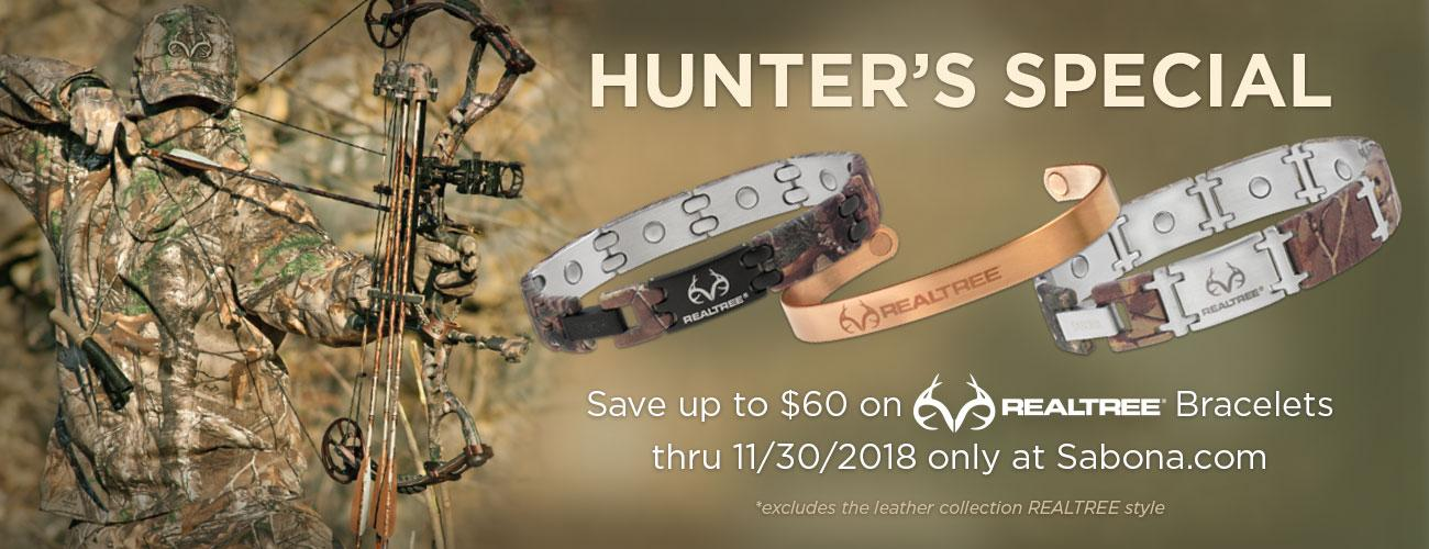 Hunter's Special Promo, Save up to $60 on Realtree