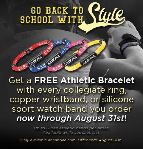 Get a FREE GIFT with every collegiate purchase now through Aug 31!