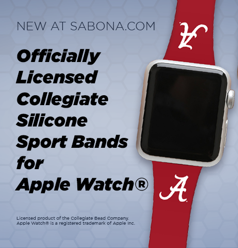 Officially Licensed Collegiate Silicone Sport Bands for Apple Watch®