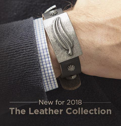 New for 2018, the Sabona Leather Collection