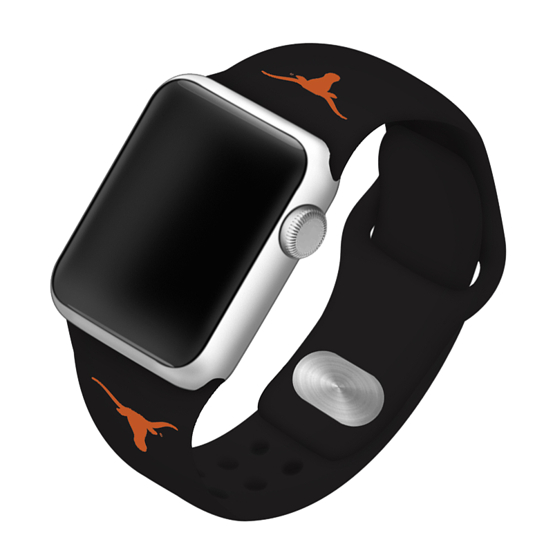 University of Texas at Austin Longhorns Silicone Sport Band for Apple Watch®