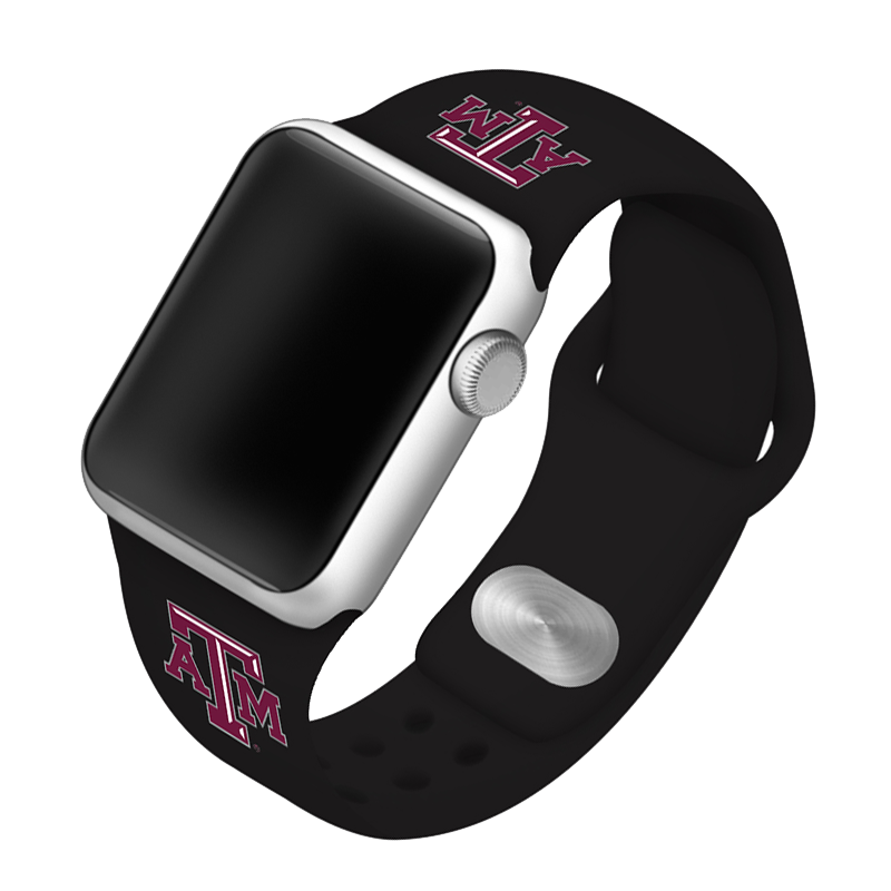 Texas A&M University Aggies Silicone Sport Band for Apple Watch®