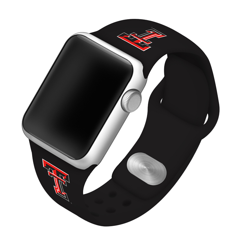 Texas Tech University Red Raiders Silicone Sport Band for Apple Watch®