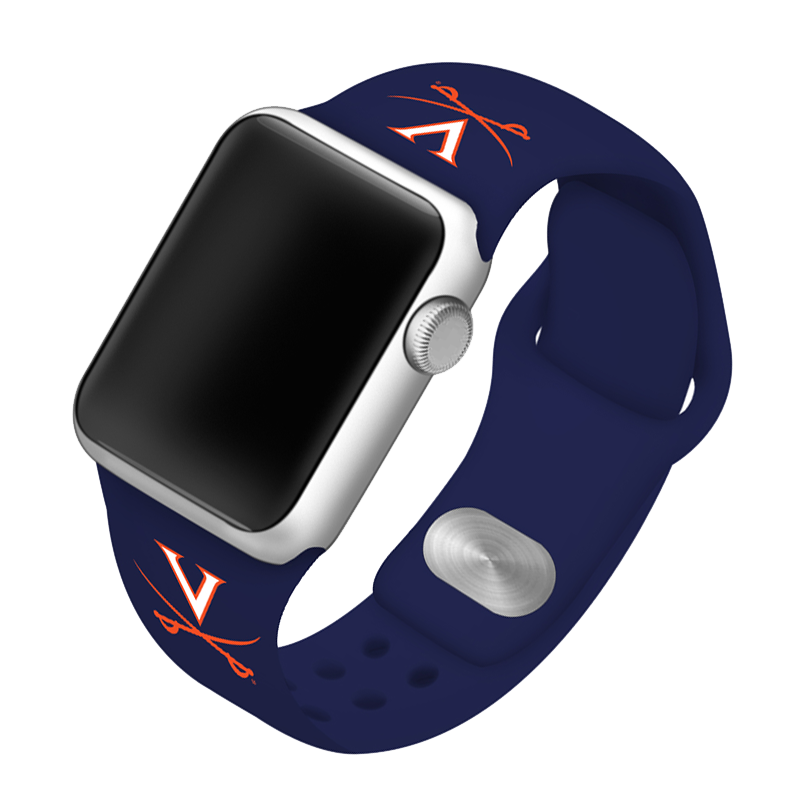 University of Virginia Cavaliers Silicone Sport Band for Apple Watch®