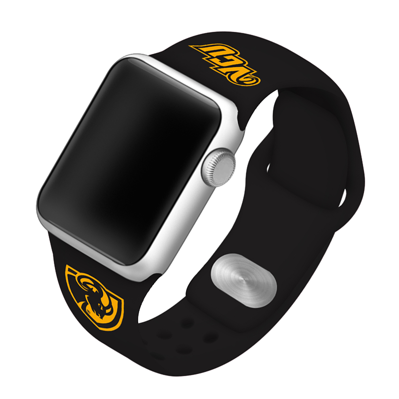 Virginia Commonwealth University Rams Silicone Sport Band for Apple Watch®