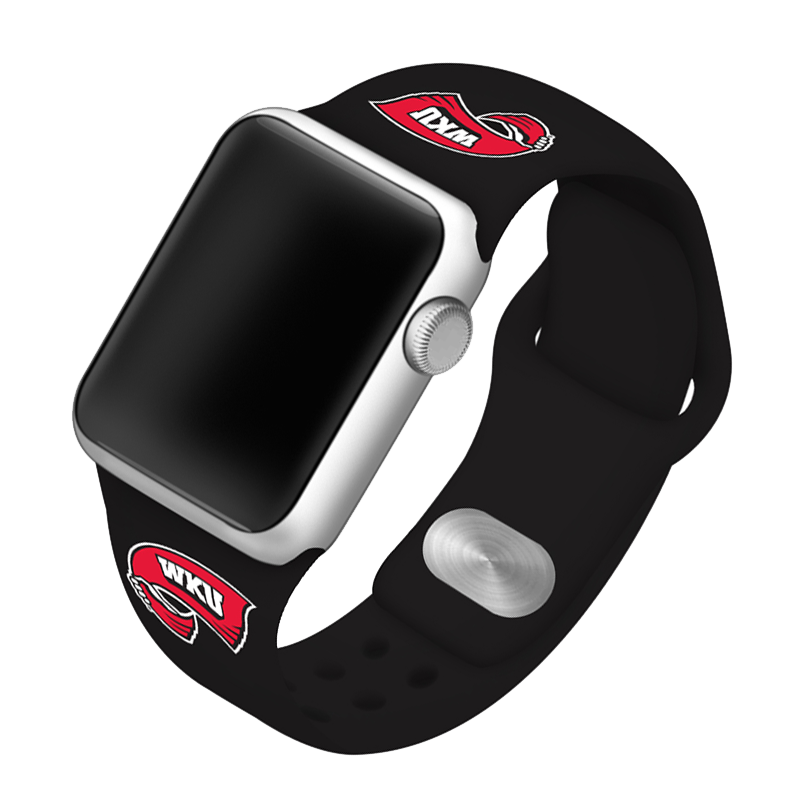 Western Kentucky University Hilltoppers Silicone Sport Band for Apple Watch®