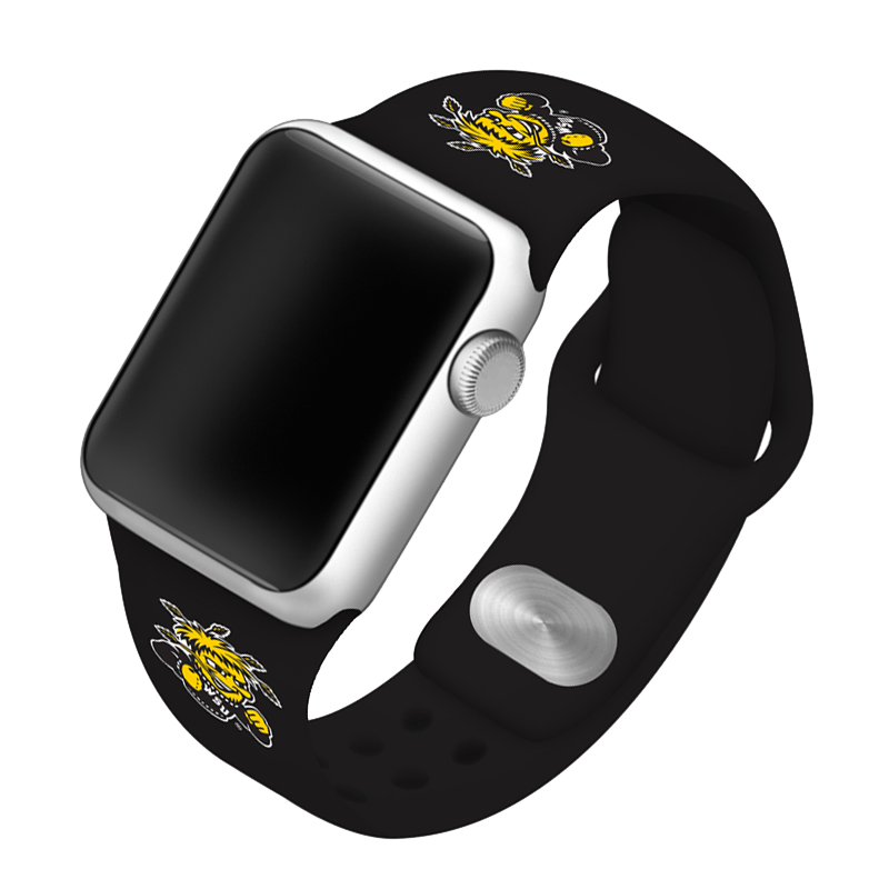 Wichita State University Shockers Silicone Sport Band for Apple Watch®